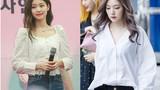 Áo sơ mi/blouse trắng vào tay các mỹ nhân Hàn ra set đồ đẹp mê ly