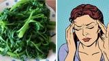 Những loại rau quả giúp đẩy máu lên não, trị rối loạn tiền đình
