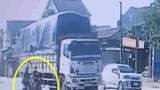 Video: Cô gái bị xe tải cán tử vong