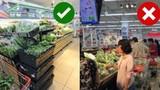 2 thời điểm không nên mua thực phẩm trong siêu thị