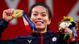 Nữ thần cử tạ Đài Loan thi đấu tại Olympic