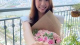 Á hậu Thúy Vân bất ngờ khoe nhẫn kim cương bạn trai cầu hôn đúng 8/3