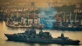 Tròn mắt xem Hạm đội Thái Bình Dương Nga phô diễn sức mạnh