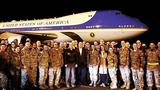 Chuyên cơ Tổng thống Mỹ dừng tiếp nhiên liệu trước khi tới Việt Nam