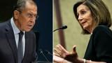 """Ngoại trưởng Nga chỉ trích Chủ tịch Hạ viện Mỹ bị """"hoang tưởng"""""""