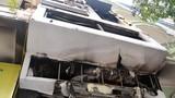 Hiện trường vụ cháy tiệm vàng, 5 người tử vong