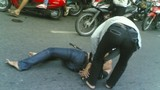 Phút sinh tử của bác tài xe ôm bị cướp đâm 14 nhát