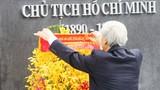 TP HCM khánh thành Tượng đài Chủ tịch Hồ Chí Minh
