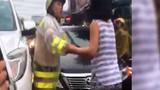 Một phụ nữ lăng mạ chiến sĩ CSGT gây phẫn nộ dư luận