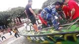 2 ngư dân nghi bị kẹt trong tàu cá chìm trên biển Côn Đảo