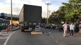 Đau lòng thai phụ bị xe tải cán tử vong ở TP HCM