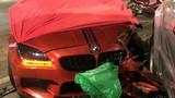 """Nghi vấn """"siêu xe"""" BMW M6 duy nhất ở TP HCM gây tai nạn kinh hoàng"""