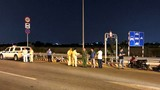 Liên tiếp tai nạn đâm dải bê tông cao tốc TPHCM-Long Thành-Dầu Giây