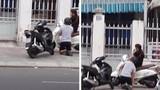 Thiếu gia đi xe xịn quỳ gối trước bạn gái giữa đường