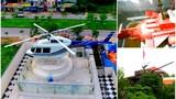 """Chơi kiểu """"khác người"""", đại gia Việt trưng xe tăng, máy bay trong vườn nhà"""