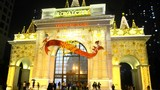 Trung tâm thương mại Hà Nội trang hoàng rực rỡ đón Giáng sinh