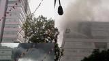 Cháy đại học Ngoại thương Hà Nội