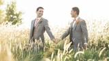 Ảnh cưới lãng mạn tuyệt vời của cặp đồng tính nam