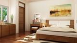 Thiết kế phòng ngủ theo phong thủy, vợ chồng hạnh phúc viên mãn cả đời