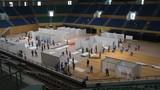 Cận cảnh cơ sở điều trị COVID-19 tại Cung thể thao Tiên Sơn, Đà Nẵng