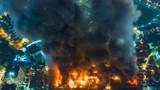 Công ty Rạng Đông thừa nhận gian dối sau vụ cháy kho bóng đèn
