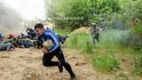Kỳ thú cảnh quân đội Nga huấn luyện phóng viên chiến trường