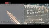 Choáng: Máy bay không người lái Iran chụp cận cảnh tàu sân bay Mỹ