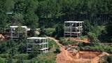 Dự án bất động sản sai phạm 'vây' hồ Tuyền Lâm, Đà Lạt 'tuýt còi'