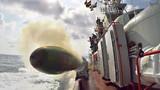Chiêm ngưỡng khoảnh khắc ngư lôi Việt Nam phóng ra từ tàu chiến cực hiếm