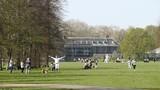 Bất chấp COVID-19, dân Anh vẫn ra công viên thể dục tắm nắng