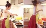 """Elly Trần trổ tài nấu món chay """"đỉnh của chóp"""", nhìn là muốn ăn"""