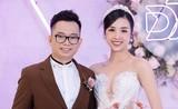 Á hậu Thúy An đẹp lộng lẫy trong lễ cưới với chồng tiến sĩ