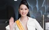 Ái Nhi rạng rỡ lên đường sang Ai Cập thi Miss Intercontinental 2021