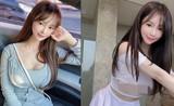 """""""Nhức mắt"""" thời trang gợi cảm khoe vòng một của nữ điều dưỡng Hàn Quốc"""