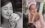 Để lộ cánh tay lạ, hot girl Trâm Anh khiến netizen đồn đoán xôn xao