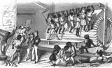 Phát hoảng cách người xưa dùng máy chạy bộ để tra tấn tù nhân