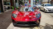Siêu xe Ford GT độc nhất Việt Nam xuất hiện ở Sài Gòn