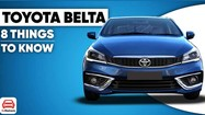 Toyota Belta 2022 - sedan giá rẻ thay thế Vios lần đầu lộ diện