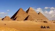 Tìm được bằng chứng về lực lượng xây kim tự tháp Ai Cập