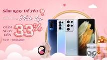 """Quà 8/3: iPhone 12 Pro Max và Galaxy S21 Ultra quá """"ngon, bổ, rẻ"""""""