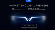 VinFast sẽ ra mắt ôtô điện mới tại Los Angeles Auto Show 2021
