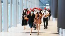 Sân bay Vân Đồn ngày đầu tiên hoạt động lại sau dịch COVID-19