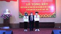 Hải Dương: Trao giải Cuộc thi sáng tạo thanh thiếu niên và nhi đồng tỉnh lần thứ 15