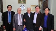 Chủ tịch Phan Xuân Dũng thăm, chúc Tết nguyên Lãnh đạo Liên hiệp các Hội KH&KT Việt Nam