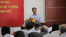 Học tập và làm theo tư tưởng Hồ Chí Minh về ý chí tự lực, tự cường, khát vọng phát triển đất nước