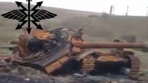 Sốc: Pháo binh Armenia nghiền nát xe tăng chủ lực T-90 Azerbaijan
