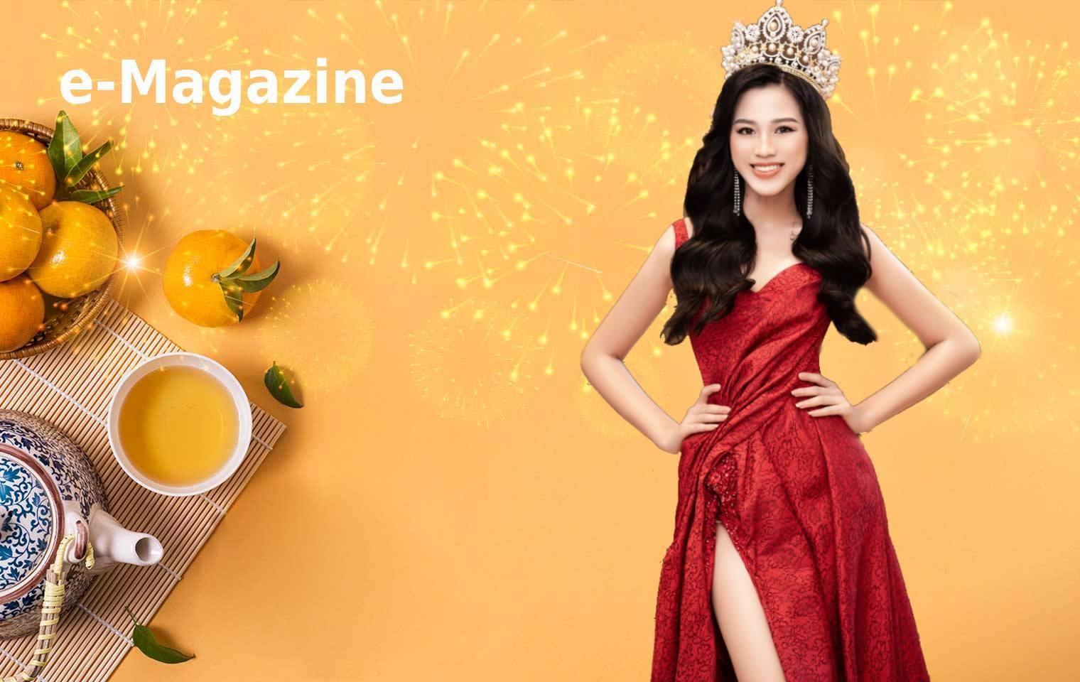 e-Magazine: Hoa hậu Đỗ Thị Hà: Tết là để… ở bên gia đình