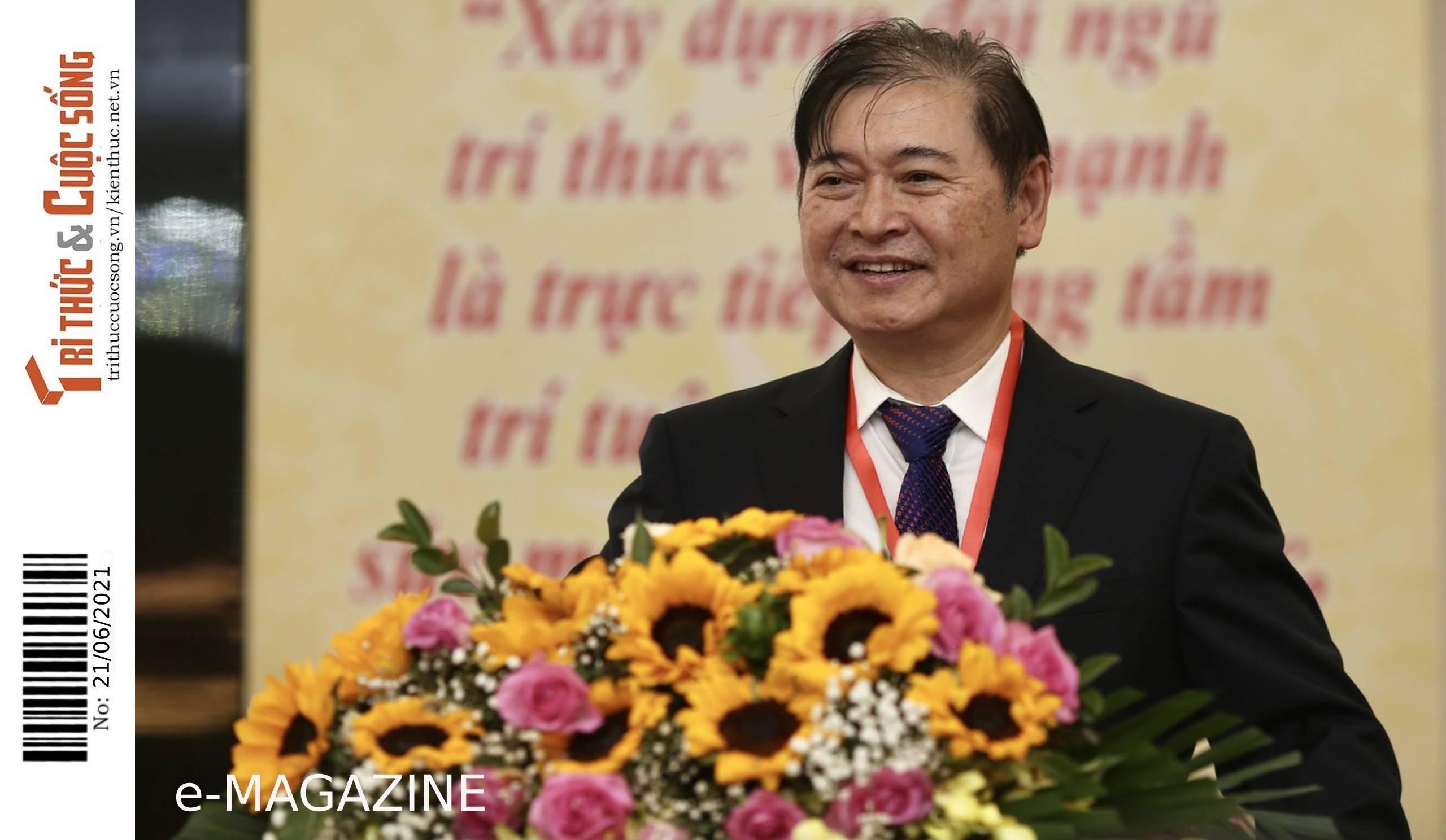 [eMagazine] Chủ tịch VUSTA Phan Xuân Dũng chúc mừng những người làm báo nhân ngày 21/6