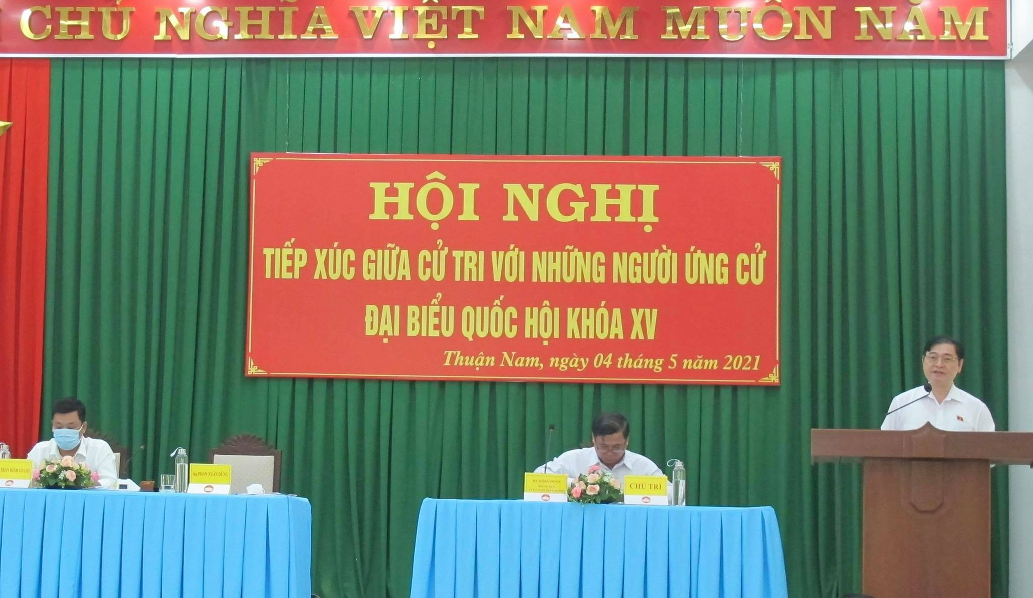 Chuong trinh van dong bau cu cua ung vien DBQH - Chu tich VUSTA Phan Xuan Dung-Hinh-2