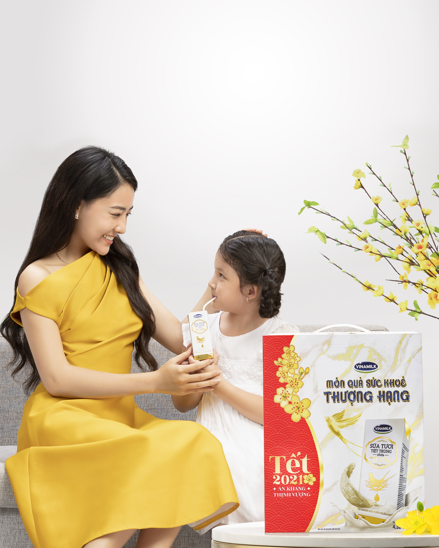 Tet Tan Suu: Vinamilk gioi thieu sua tuoi chua to yen phien ban dac biet